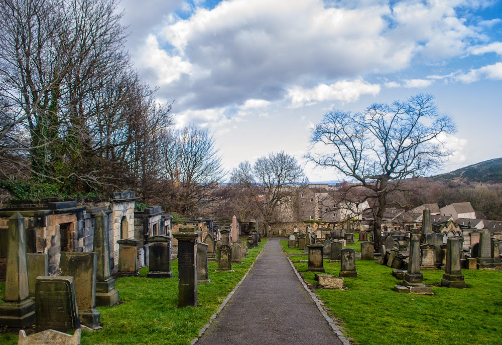 Cemetery in Edinburgh