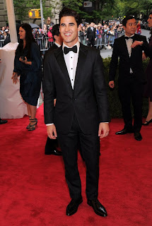 Darren Criss in Met Gala 2012