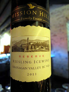2011 Mission Hill Reserve Riesling Icewine - NWAC13 Gold Medal Winner