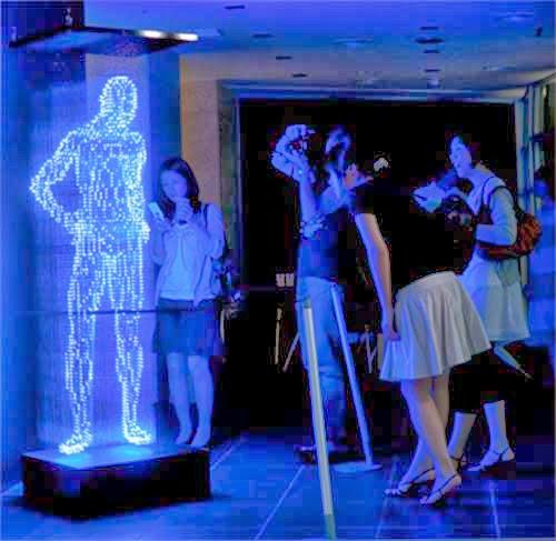Sizzling LED Light Sculptures