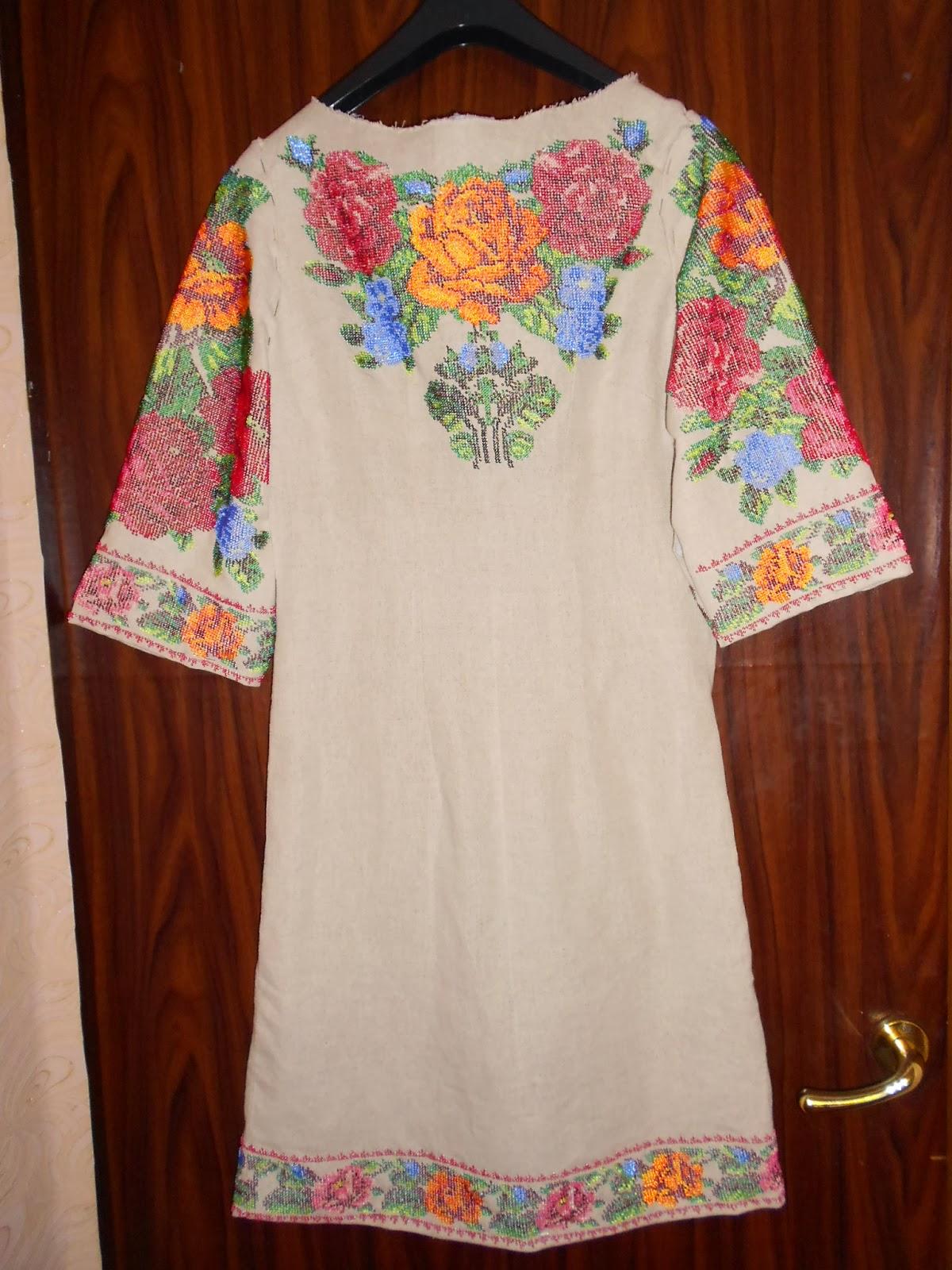 Вышивка платьев бисером фото готовых работ