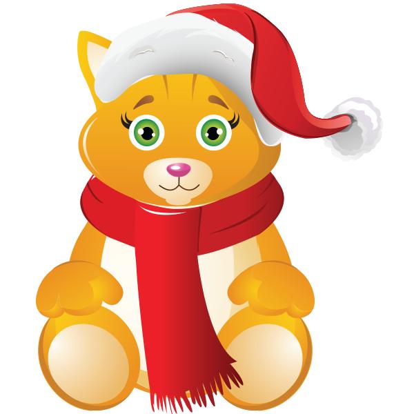 Resultado de imagen para christmas emoticon cat