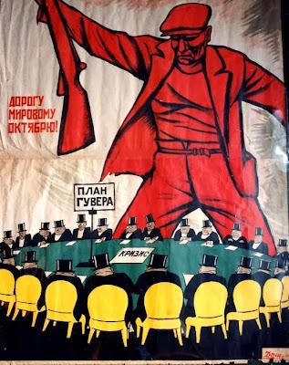 Cartel Revolución de Octubre