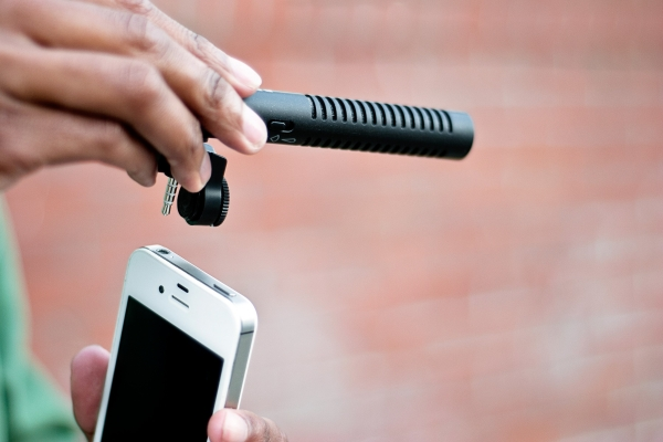 Boom Mic for iPhone 4S
