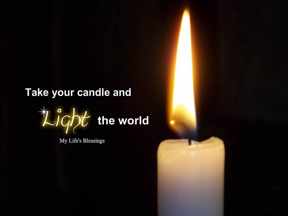 Take your candle