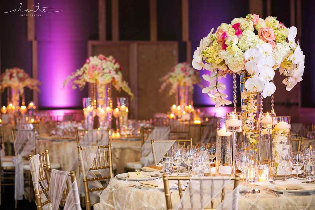Four Seasons Hotel Seattle wedding, luxury wedding reception, Flora Nova Design Seattle, wedding flowers Seattle