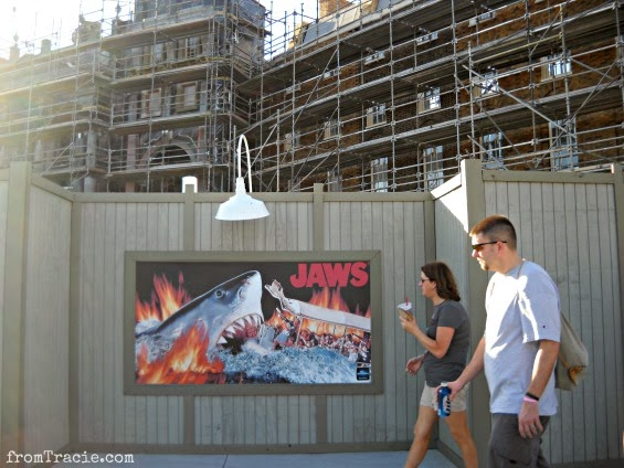 Diagon Alley Expansion Orlando with Jaws Poster