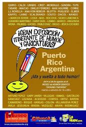 MUESTA DE HUMOR GRAFICO: ARGENTINA- PUERTO RICO