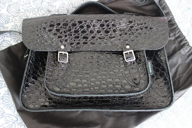 Blog sale Zatchels black crocodile satchel