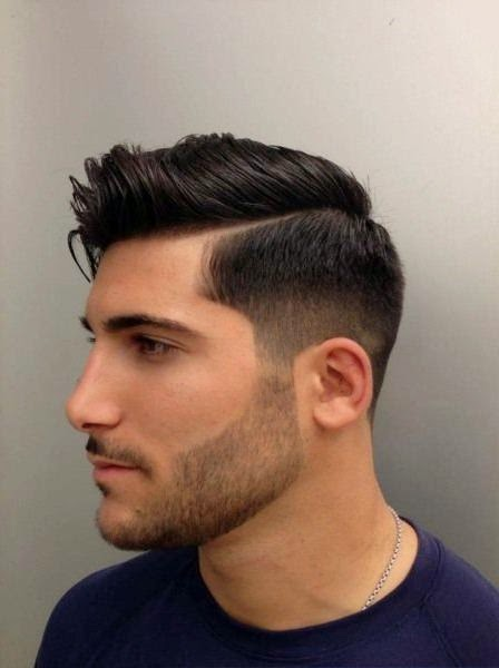 model rambut pendek terbaru pria