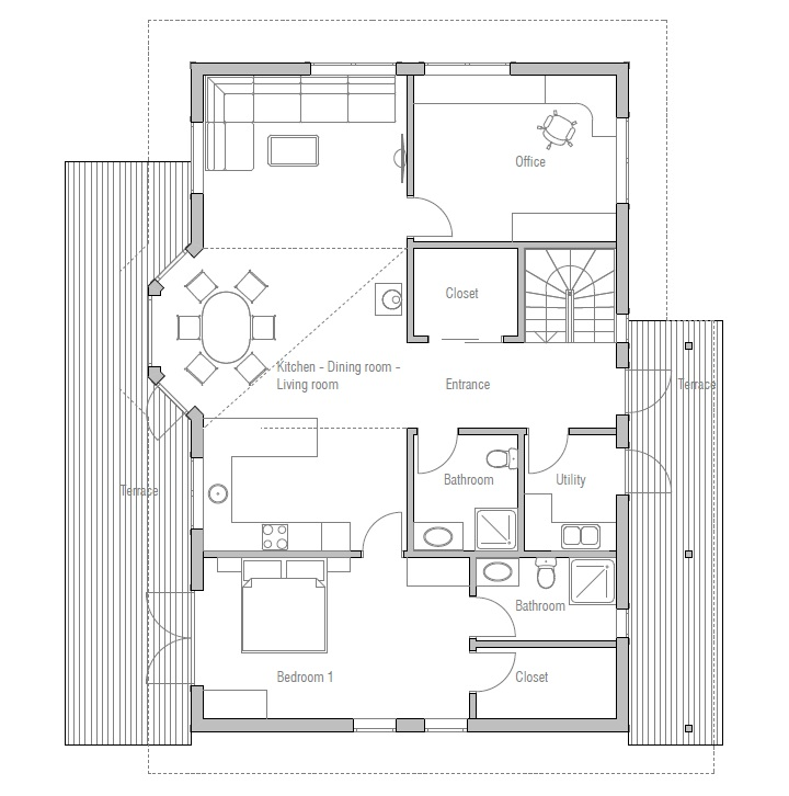 Affordable House Plans For Large Families House Design Plans