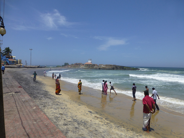 Kovalam beach tour india