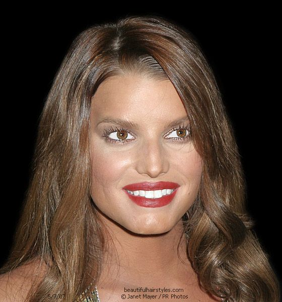 hollywood menue jessica simpson