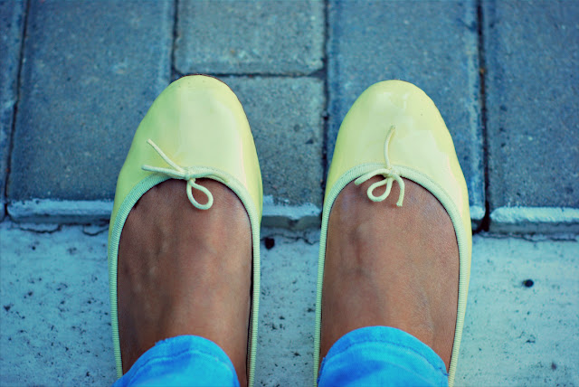 repetto balerinas,flats,yellow,lemon yellow,shoes,babetler.repetto