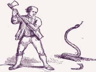 L'uomo e il serpente velenoso (Esopo)