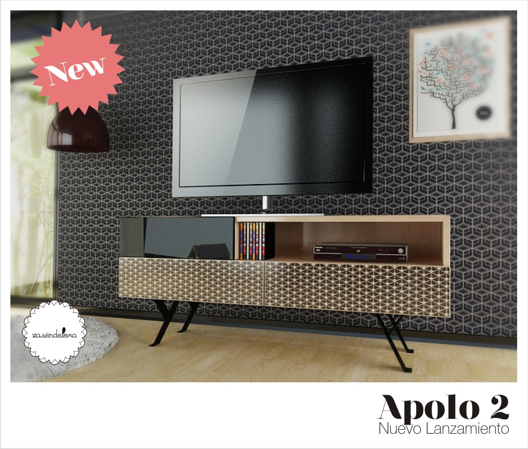NEW! Apolo 2 / Mueble para TV