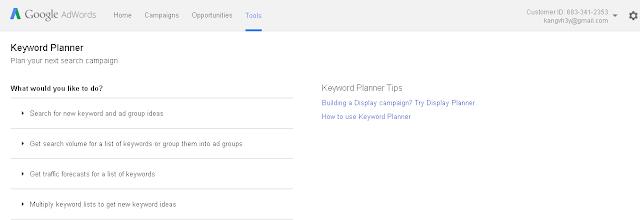 Cara Riset Keyword Menggunakan Google Adword Lengkap