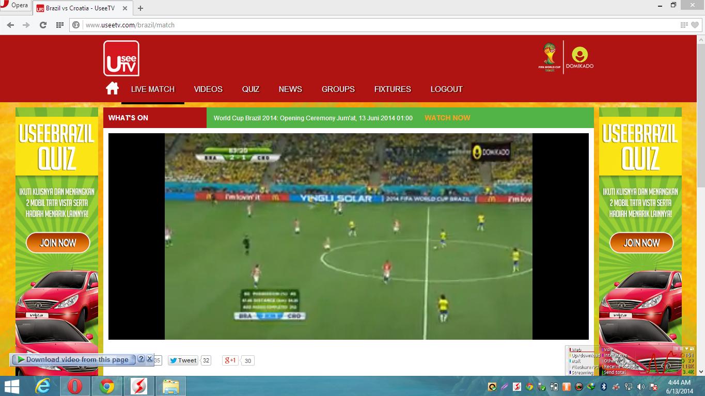 Cara Melihat Siaran TV Piala Dunia Online 9