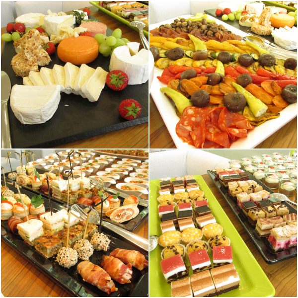 ALCINA Blogger Event Buffet
