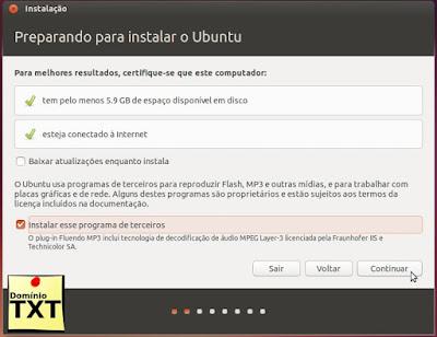 DominioTXT - Preparação Ubuntu