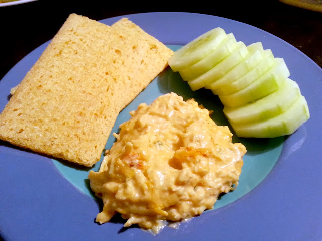 Dairy Free/Gluten Free Buffalo Chicken Dip :: Fox with Glasses :: www.foxwithglasses.blogspot.com