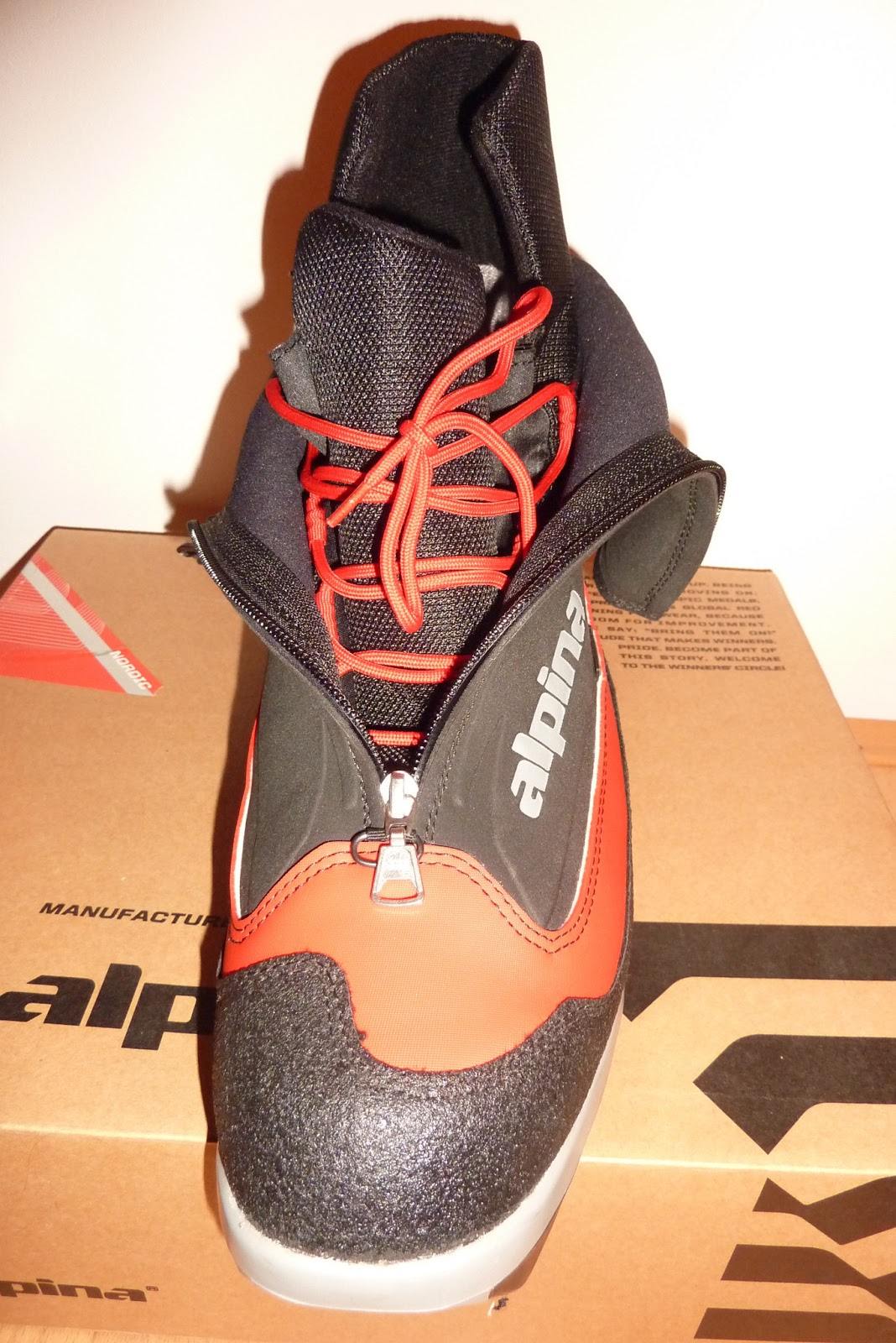 Sunny Side Of The Alps Alpina BC VsTraverse Nordic - Alpina bc boots