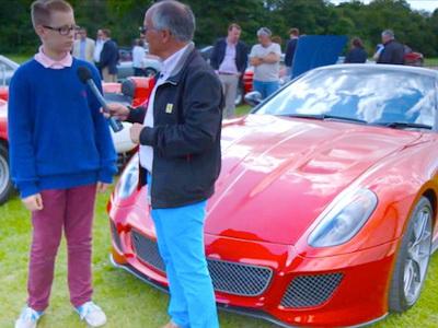 Bocah Tajir Beli 3 Mobil Ferrari Setelah Jual Aplikasi Seharga 130 Milyar ke Google