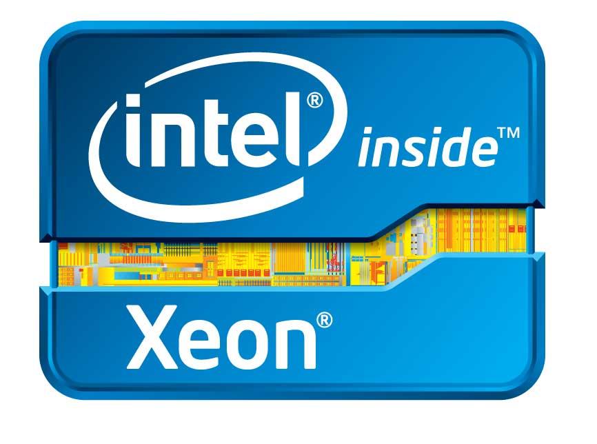 Intel xeon e7 logo