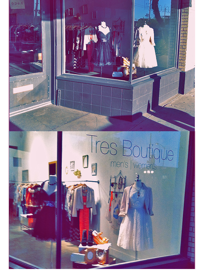 #tres boutique #tucson #shopping #retail display #store front #inspiration