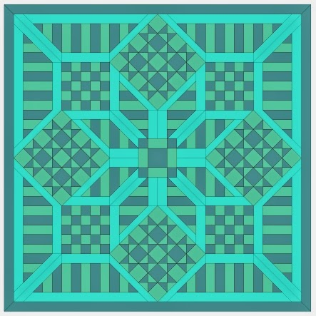 free quilt top patterns and templates for English paper piecing