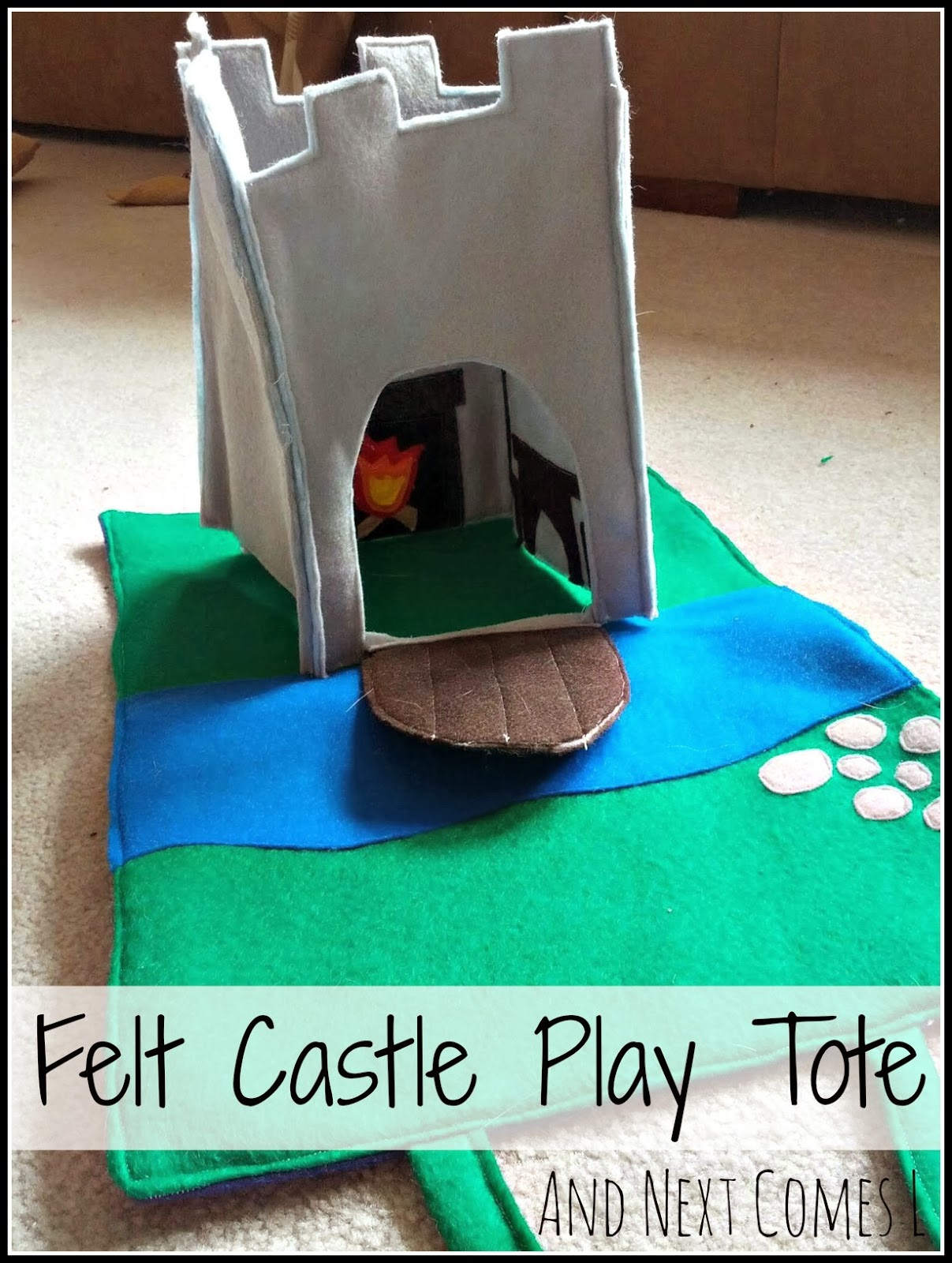 Castle Play Tote And Next Comes L