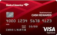 $100 Cash Back on BankAmericard Cash Rewards™ Credit Card