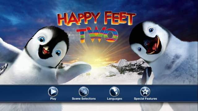 Happy Feet 2 El Pingüino DVDR NTSC Español Latino ISO 2011