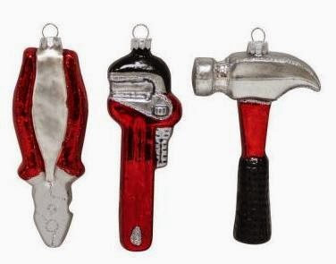 home depot tool ornaments