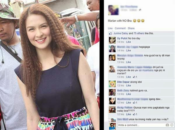 Marian Rivera 'braless' photo goes viral