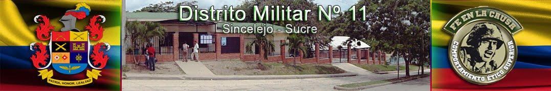DISTRITO MILITAR Nº 11 SINCELEJO (Web Oficial)