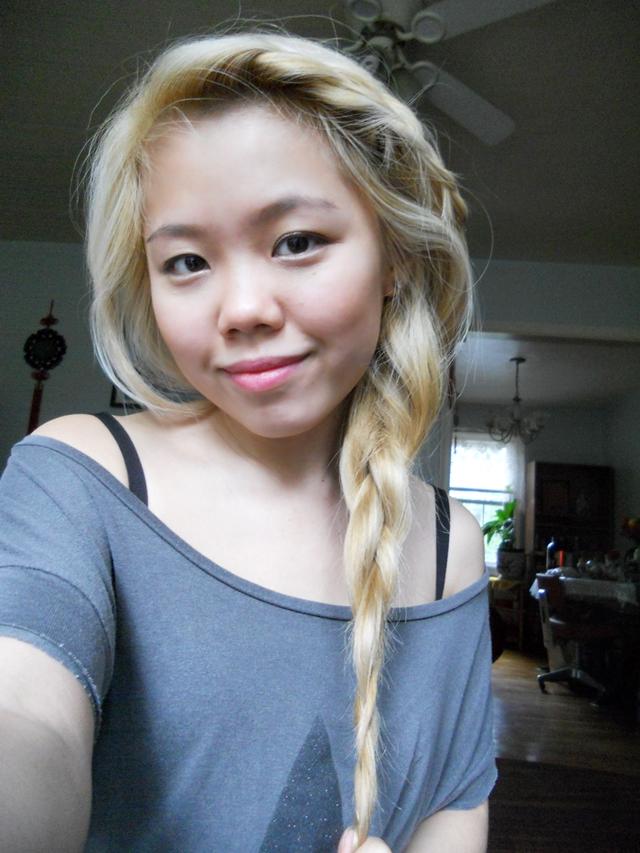 Hair Update Ash Blonde Hair
