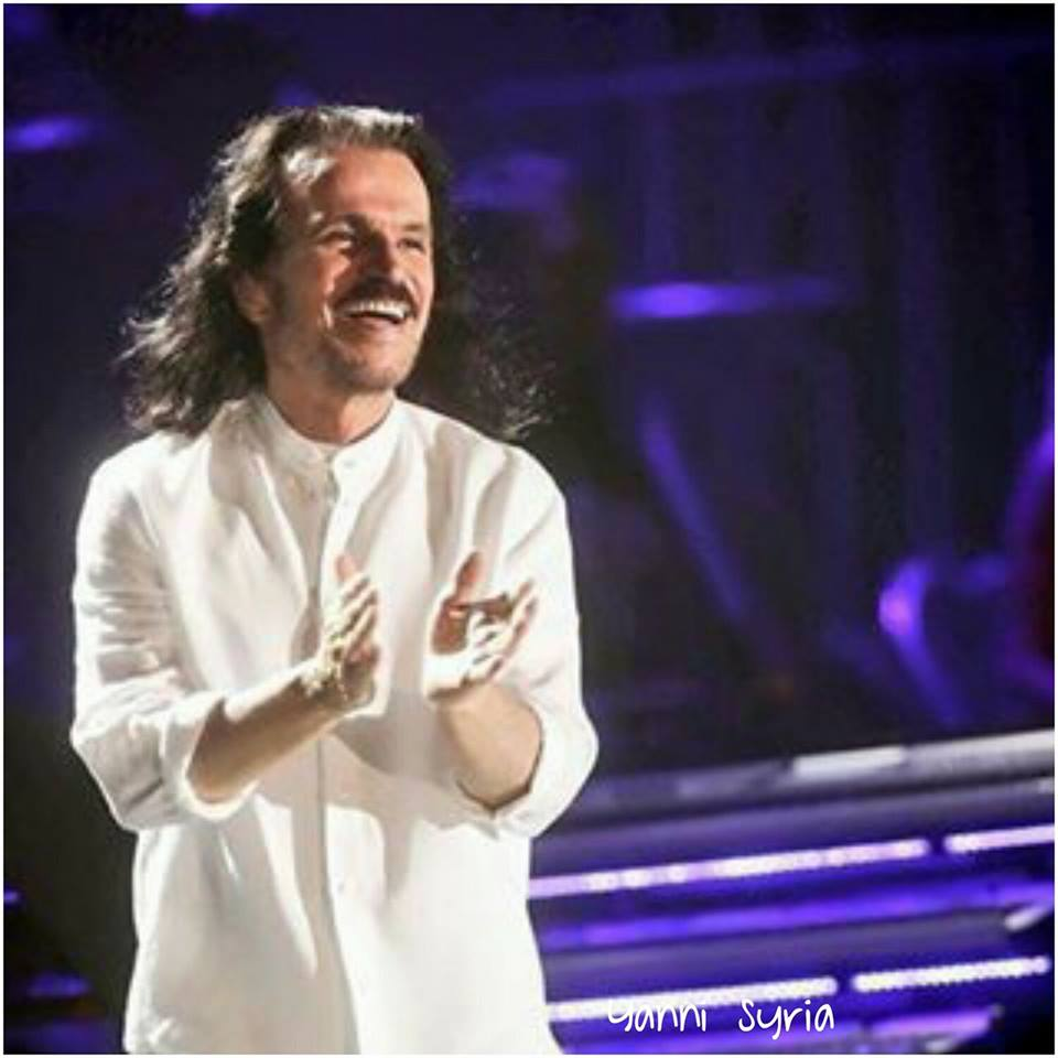 You have given us the finest tunes Yanni and we thank you for reviving our hearts ❤ ياني لقد قدمت ​