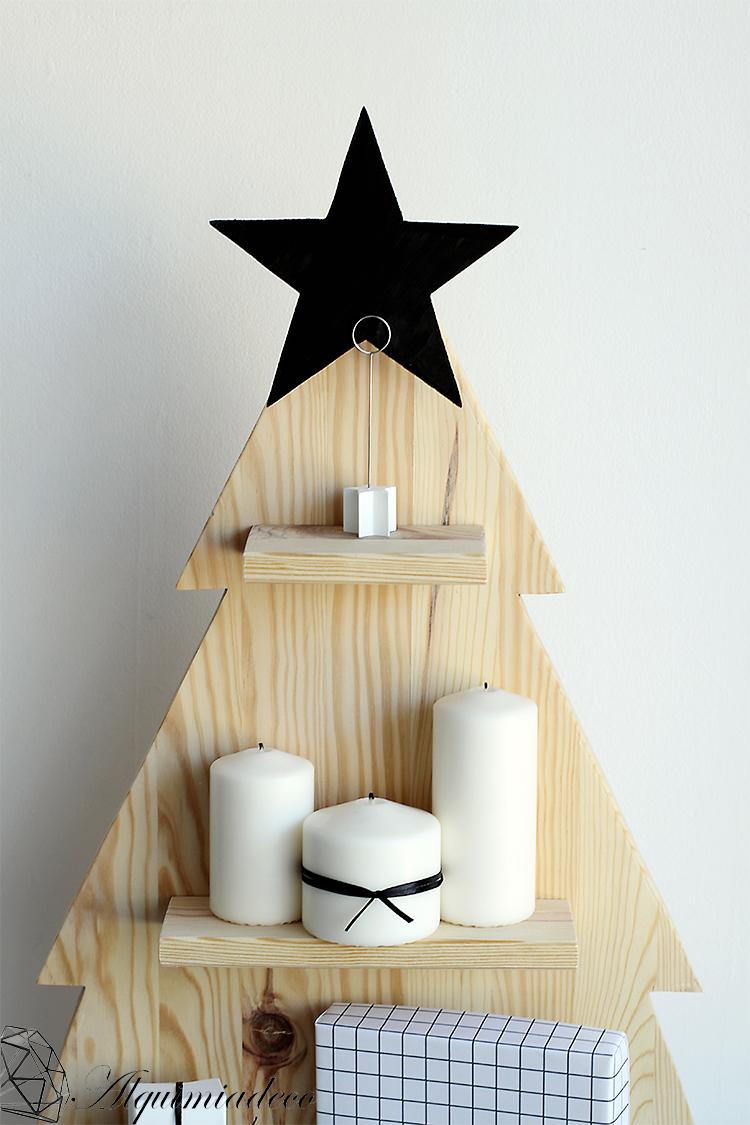 as ha quedado mi rbol de navidad - Arbol De Navidad De Madera