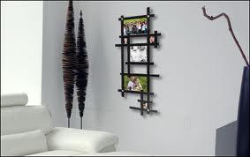 fabulous cadre rectangle lgance pour une photo en bois laqu noir hauteur cm largeur cm. Black Bedroom Furniture Sets. Home Design Ideas