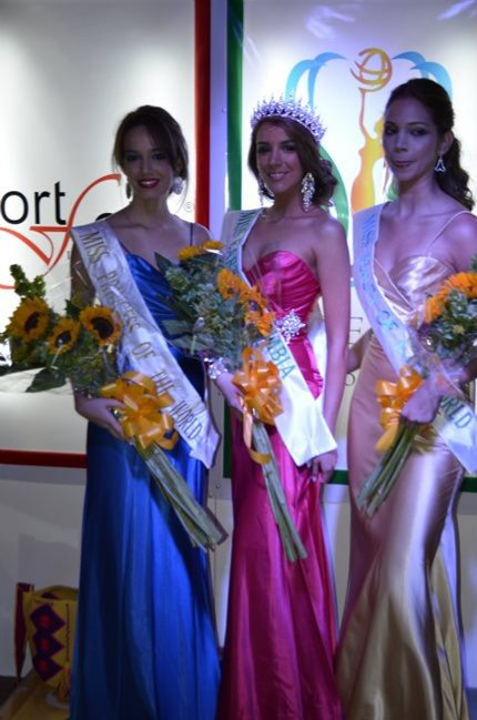 ana maria olaya,silvanna lepesqueur,miss earth colombia 2011 semifinalists