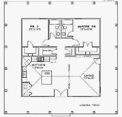 Planos de casas planos de casas basicas for Planos arquitectonicos vivienda