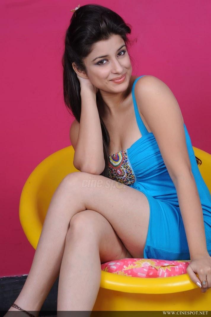 Madurima Indian teen Model hot blue dress photo shoot