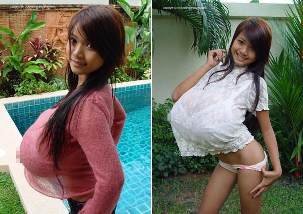 Những cô gái Á Châu siêu vú sữa hơn người 5