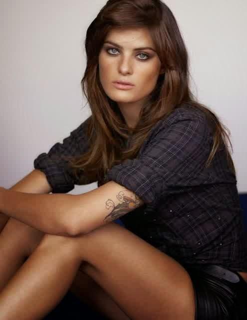 Isabeli Fontana Sleeve Tattoo Designs