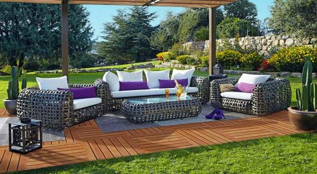 M veis de jardim e exterior leroy merlin decora o e ideias for Muebles de jardin modernos