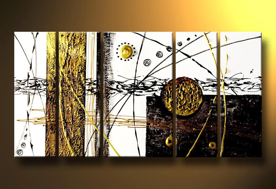Cuadros pinturas oleos paisajes modernos for Fotos cuadros abstractos modernos