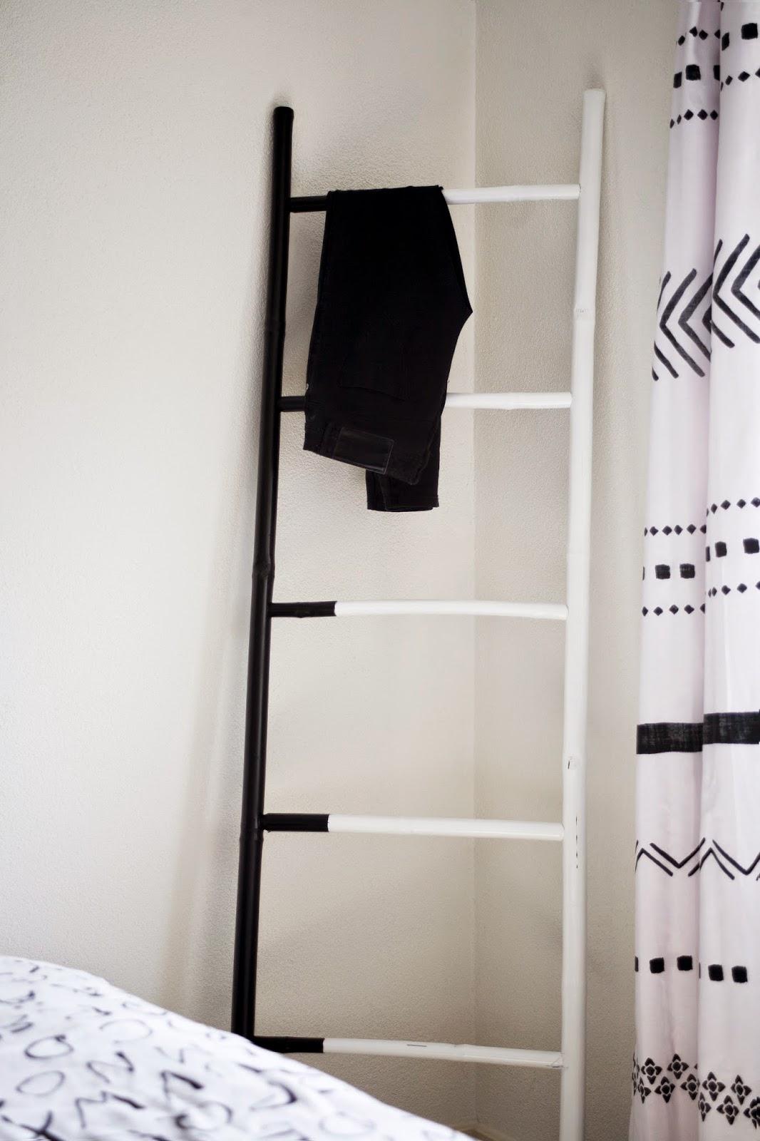 Creative home deco ladder - Deco ouder kamer ...