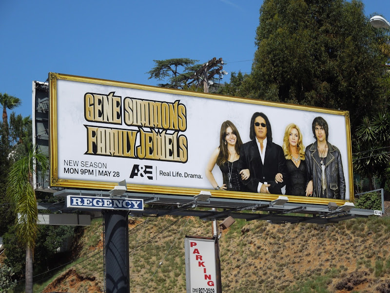 Gene Simmons Family Jewels season 7 billboard