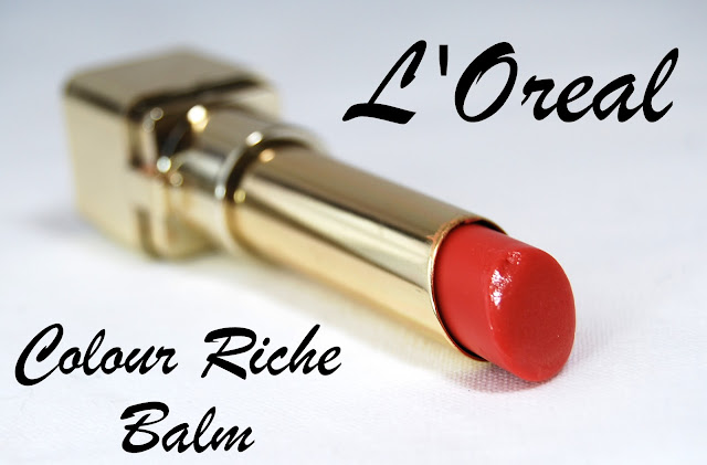L'Oreal Colour Riche Balm in Caring Coral